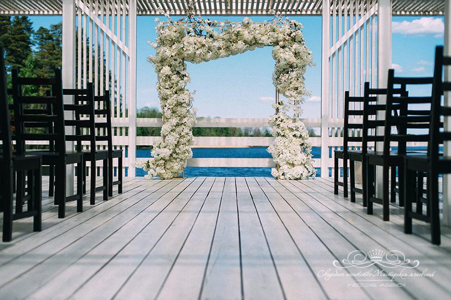 Оформление свадьбы в Давинчи парк