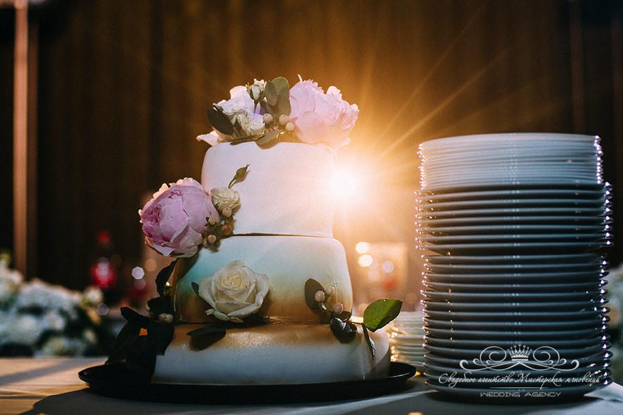 Свадебный торт Давинчи парк