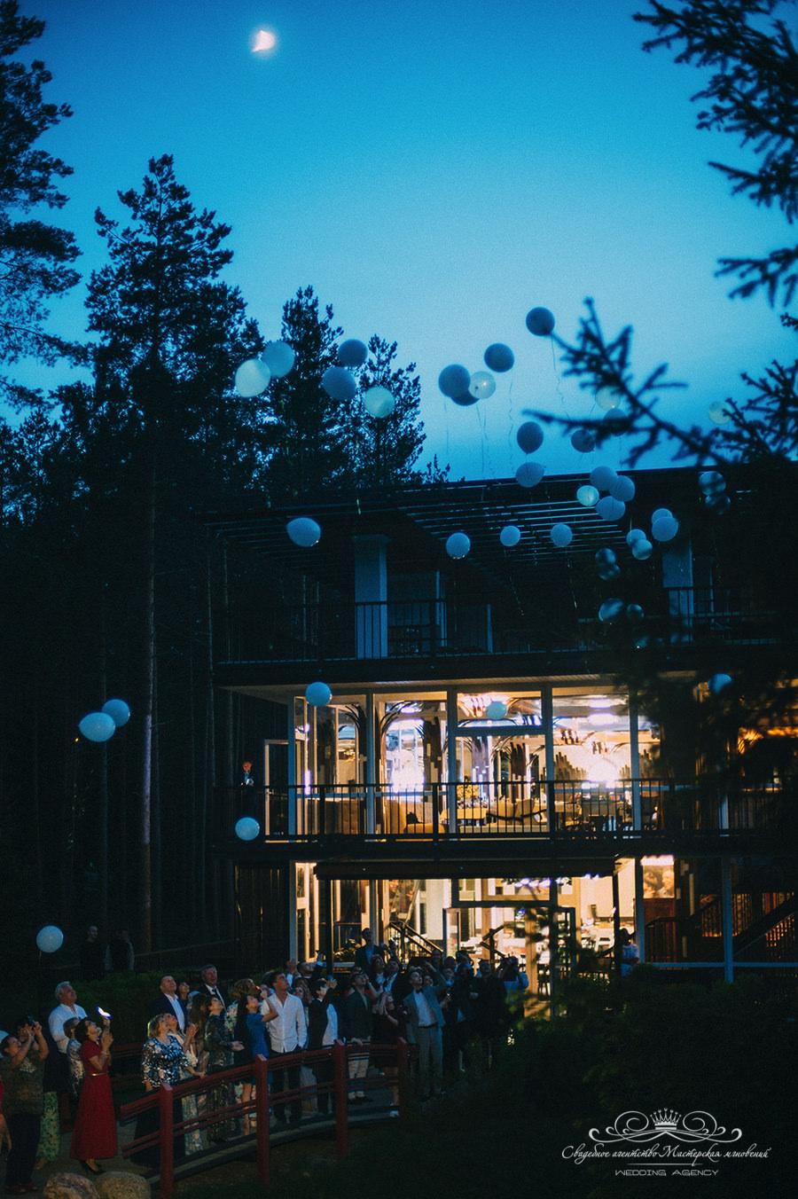 Светодиодные шары в Давинчи парк