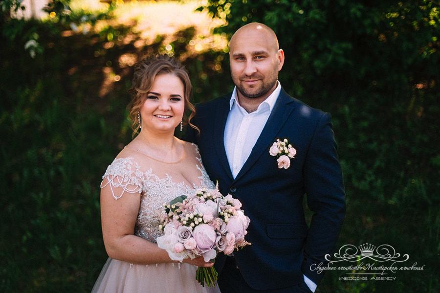 Фотосессия в день свадьбы в Давинчи Парк