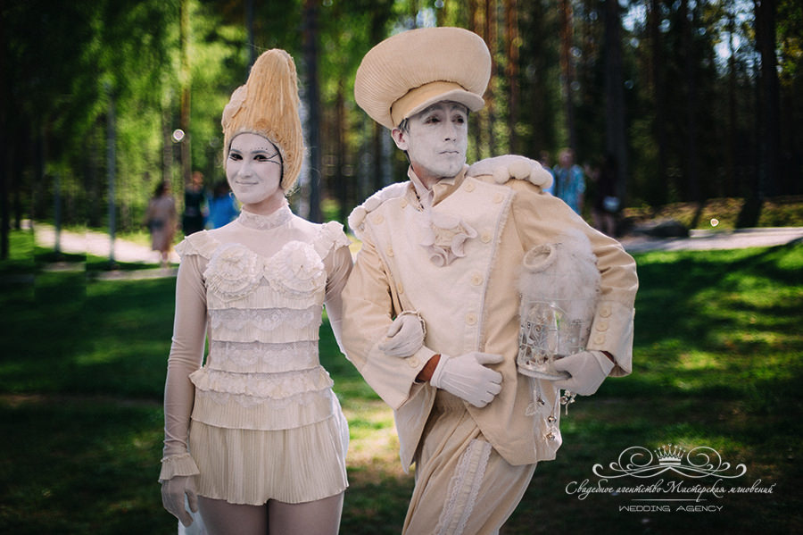 Театр Мимокракодил на свадьбе