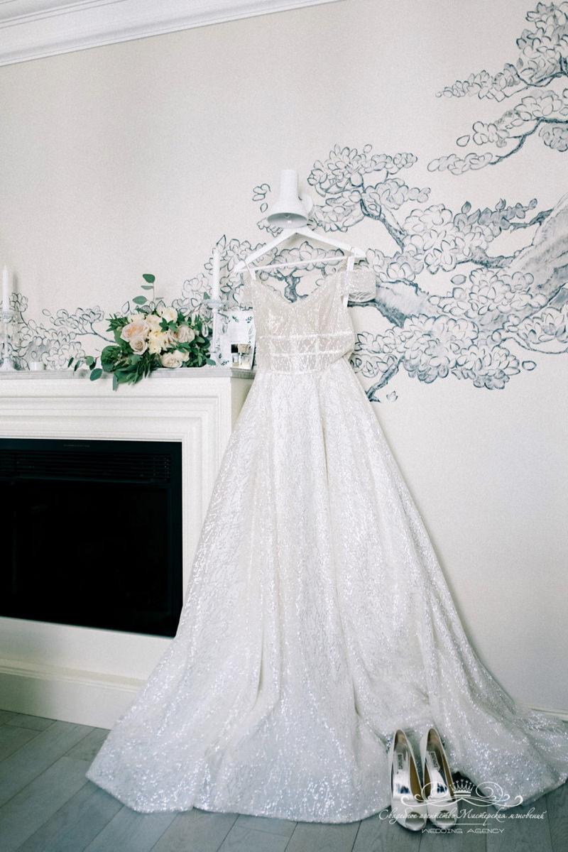 Платье невесты Роял Бич