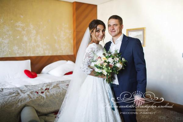 Номер жениха и невесты в Доме у моря