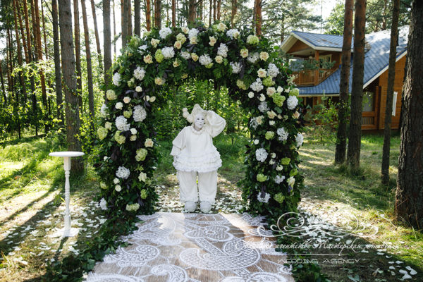 Свадебная регистрация на территории Дома у Моря